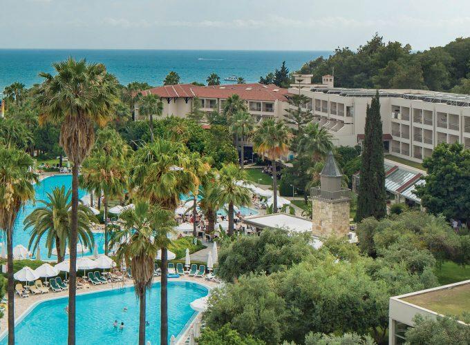 Тиждень в найтеплішому регіоні Туреччини Сіде в готелях 5* з рейтингами вище 9.2