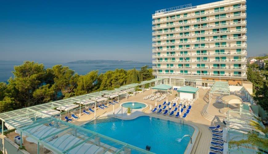 Отдых в Хорватии г. Макарска, отель Dalmacija 3*