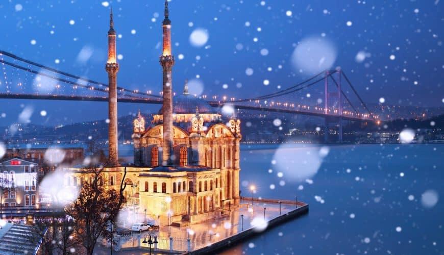 Новый 2021 год в Стамбуле