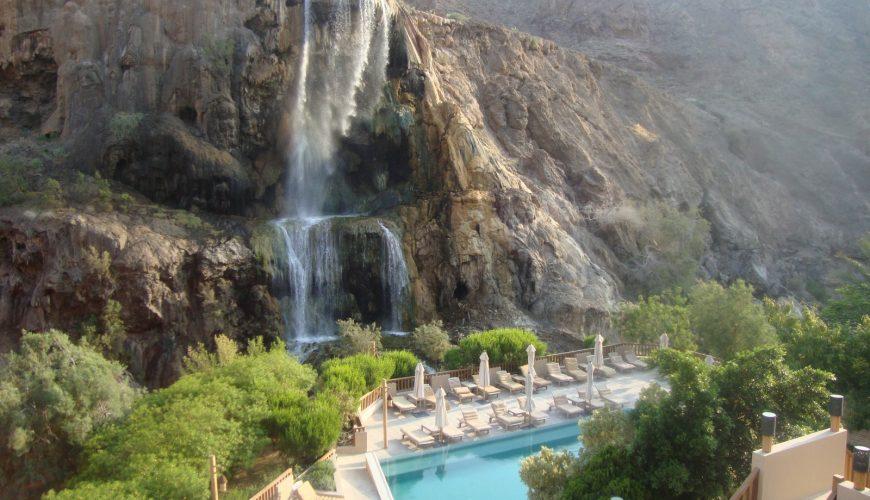 Отдых в Иордании на горячих источниках Майн