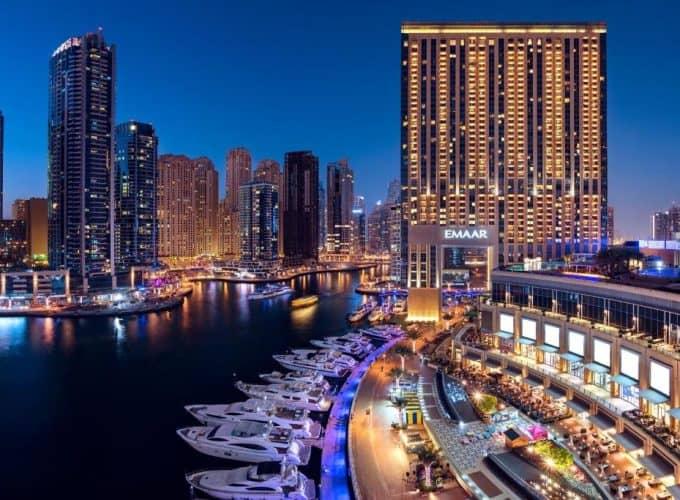 ОАЕ, Дубай: готель Address Dubai Marina 5* з відмінним місцем розташування та рейтингом 9.3 з 10